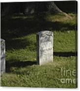 Civil War Unknown Dead Canvas Print