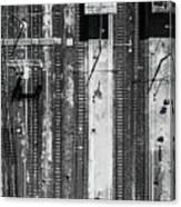 Civitavecchia Train Station Canvas Print