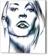 Claire Danes Canvas Print