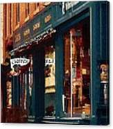 Claire's On College Street Canvas Print