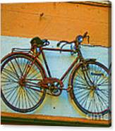 Clamped Canvas Print