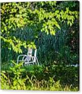 Clandestine Chair Canvas Print