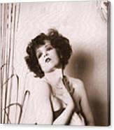 Clara Bow Canvas Print
