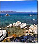 Clarity - Lake Tahoe Canvas Print