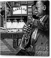 Jazz Clark Terry Canvas Print