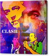 Clash Know Your Rights Canvas Print
