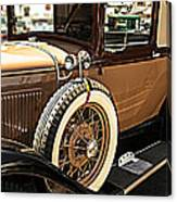 Classic 1928 Ford Model A Sport Coupe Convertible Automobile Car Canvas Print