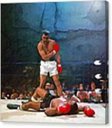 Classic Ali Canvas Print