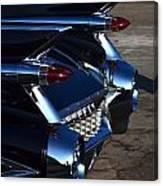 Classic Black Cadillac Canvas Print