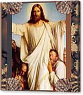 Classic Bloch Jesus Canvas Print