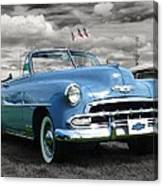 Classic Blue Chevy Canvas Print