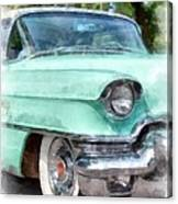 Classic Caddy Canvas Print