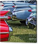 Classic Caddy Fin Party Canvas Print