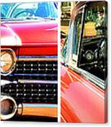 Classic Caddy Inside And Out Canvas Print