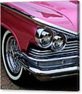 Classic Car Collection Canvas Print