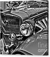 Classic Car Detail Canvas Print