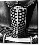 Classic Car Packard Grill Canvas Print