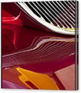 Classic Car Red - 09.19.09_354 Canvas Print