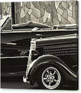 Classic Car Show Canvas Print