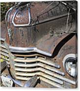Classic Car With Rust Canvas Print