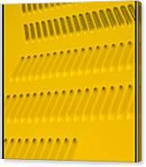 Classic Car Yellow - 09.20.08_468 Canvas Print