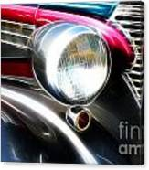 Classic Cars Beauty By Design 1 Canvas Print
