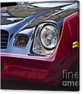 Classic Chevrolet Camaro Canvas Print