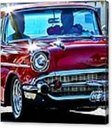 Classic Chevrolet Canvas Print