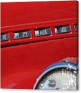 Classic Chevy Design Canvas Print