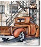 Classic Chevy Pu Canvas Print