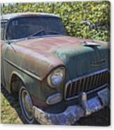 Classic Chevy With Rust Canvas Print