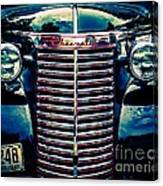Classic Chrome Grill Canvas Print