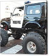 Classic Custom Jeep Canvas Print