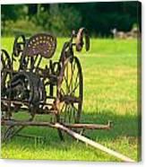 Classic Farm Equipment Canvas Print