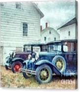 Classic Ford Model A Cars Canvas Print