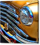 Classic Gold Canvas Print