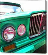 Classic Jeep J3000 4 Wheel Drive By Sharon Cummings Canvas Print