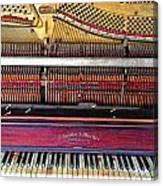 Classic Keys  Canvas Print
