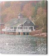 Classic Maine Architecture Canvas Print