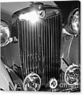 Classic Mg Roadster Motor Car Canvas Print