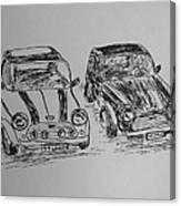 Classic Minis Canvas Print