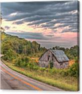 Classic Missouri Barn Canvas Print