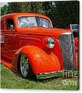 Classic Orange Canvas Print