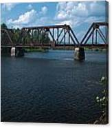 Classic Rail Bridge Canvas Print