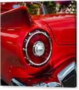 1957 Ford Thunderbird Classic Car  Canvas Print