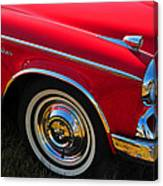 Classic Red Studebaker Canvas Print