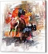 Classic Rodeo 2b Canvas Print