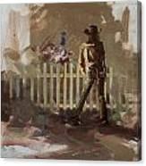 Classic Rodeo 9 Canvas Print