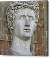 Classic Roman Noble Canvas Print