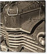 Classic Rust Canvas Print